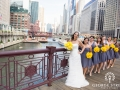 chicago-river-bridal-party-photo