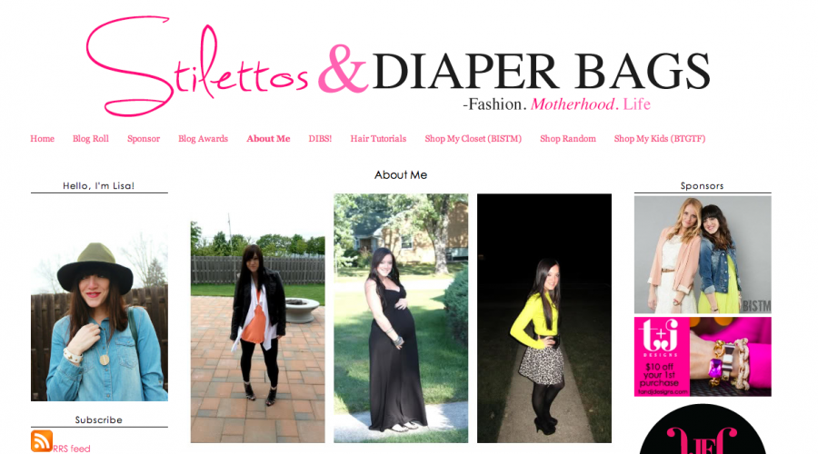 Bridal Beauty with Stilettos & Diaper Bags