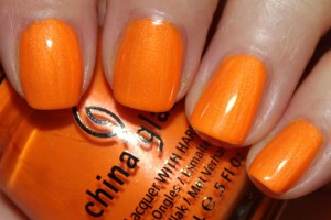 Orange nails it for Spring 2013 trends!