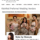 We're in Kleinfeld Bridal Beauty!