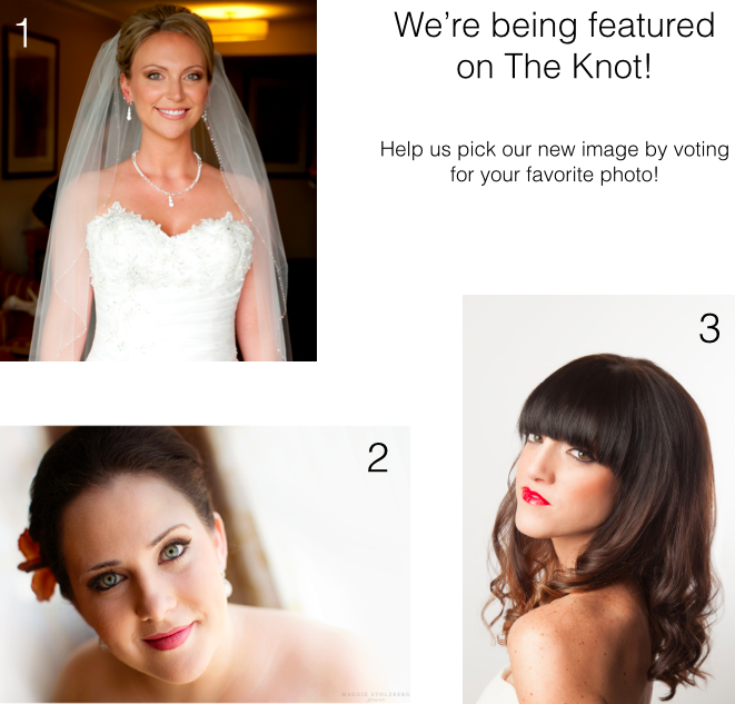 The Knot Beauty Feature 2014