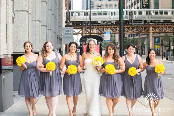 Chicago Wedding Party Styling
