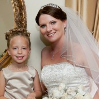 Fall Wedding-Katie-Flower Girl-Romantic Up Do