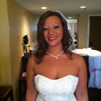 Fall Wedding-Pam-Bride-Down-Romantic-Medium Hair-2